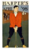 Harper's Bazaar, Golfer Giclee Print
