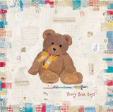 Teddy Bear Hugs Posters by Katherine &amp; Elizabeth Pope