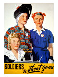 Soldiers Without Guns Giclee Print