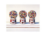 Three Machines, 1963 Affiches par Wayne Thiebaud
