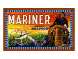 Mariner Salmon Giclee Print