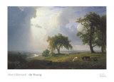 California Spring, 1875 Posters af Albert Bierstadt