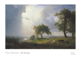 California Spring, 1875 Prints by Albert Bierstadt
