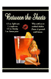 Between the Sheets Cocktail Giclee Print