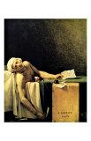 Death of Marat Gicléetryck av Jacques-Louis David