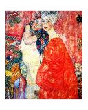 Girl Friends Giclee Print by Gustav Klimt