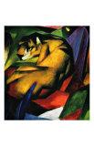 Le tigre Impression giclée par Franz Marc