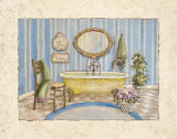 Master Bath IV Prints by Charlene Winter Olson