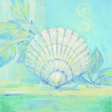 Tranquil Seashell IV Posters by Pamela Gladding