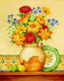 Salsa Lilies Art par Pamela Gladding