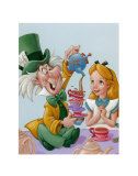 Alice and the Mad Hatter, Celebration in Wonderland Art