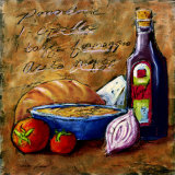 Rustic Kitchen II Prints by Tara Gamel