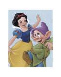 Snow White and Dopey: a Fairy Tale Celebration Prints