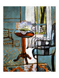 Forget-Me-Nots in the Window Reproduction proc&#233;d&#233; gicl&#233;e par Henri Matisse