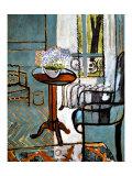 Forglemmigej i vinduet Giclée-tryk af Henri Matisse