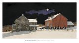 From Meeting House Road Posters par Peter Sculthorpe