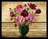 Paris Rose I Prints by Kimberly Poloson