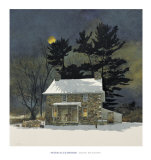 Moon Shadows Poster by Peter Sculthorpe
