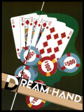 Dream Hand Plakater af Brian James