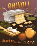 Ravioli Prints by Daphne Brissonnet