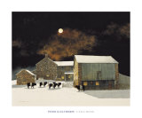 A Pale Moon Prints by Peter Sculthorpe