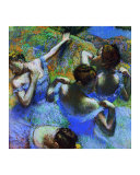 Behind the Scenes Giclee Print by Edgar Degas