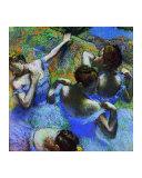 Behind the Scenes Giclee Print by Edgar Degas