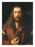 Self Portrait Giclee Print by Albrecht Dürer