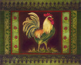 Mediterranean Rooster II Prints by Kimberly Poloson
