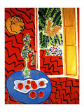 Red Interior Giclee Print by Henri Matisse
