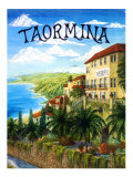 Taormina, Sicily, Italy Giclee Print by Caroline Haliday