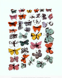 Butterflies, 1955 Prints by Andy Warhol