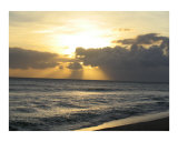 Beach Sunset Photographic Print by Michelle Strasburger