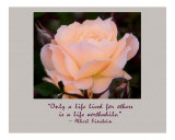 A Life Lived for Others Photographic Print by Scott Kuehn