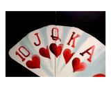 Poker Art 2 Giclee Print by Teo Alfonso