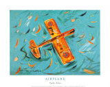 Airplane Posters by Cynthia Hudson