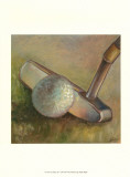 The Putter Art by Ethan Harper