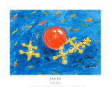Jacks Poster by Cynthia Hudson