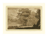Pastoral Landscape II Giclee Print by Claude Lorrain