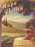Kerne Erickson - Napa Valley - Art Print