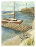 Sunday Sail II Prints by Jennifer Goldberger