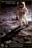 Walk on the Moon - Apollo Plakat