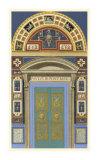 Venetian Door I Giclee Print