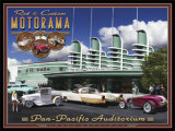 Pan Pacific Print by Larry Grossman