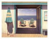 The Beach Club Posters by Daniel Pollera