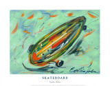 Skateboard Poster by Cynthia Hudson