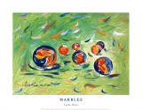 Marbles Posters by Cynthia Hudson