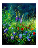 Wildflowers Giclee Print by Pol Ledent