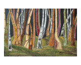 The Other Colors of the Forest Giclee Print by Pavlina Panova