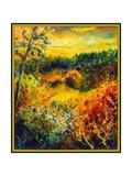 Autumn Landscape Albole Giclee Print by Pol Ledent